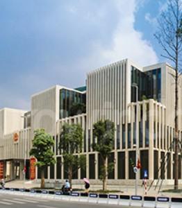 Toà nhà B1, B3, B5, C, D và E Trụ sở Bộ Công An (Dự án DA 239/05, Phạm Văn Đồng, TP. Hà Nội)