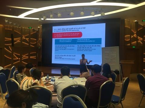Eurowindow đào tạo nhận thức và kỹ năng đánh giá nội bộ hệ thống an toàn sức khỏe nghề nghiệp