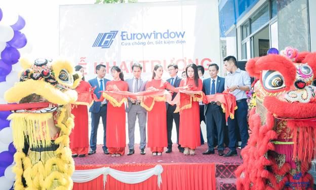 Eurowindow khai trương showroom và giới thiệu các giải pháp tổng thể về cửa, vách nhôm kính lớn tại Quảng Ninh
