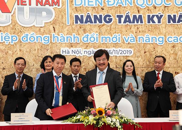 Eurowindow ký kết thỏa thuận hợp tác nâng cao kỹ năng lao động Việt Nam