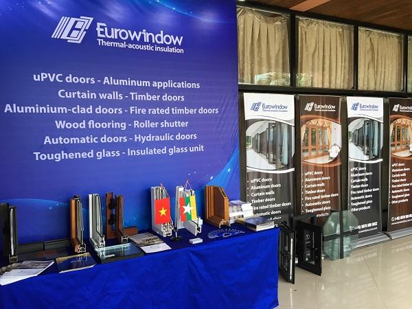 Eurowindow tham dự cuộc họp thường niên của Hiệp hội doanh nghiệp xây dựng Myanmar